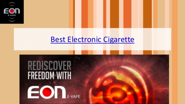 Best Electronic Cigarette