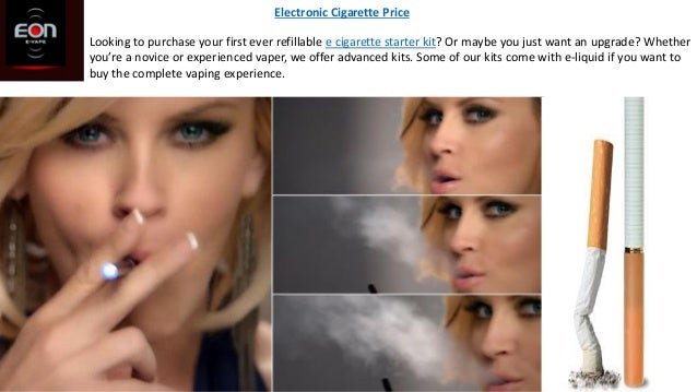 Looking to purchase your first ever refillable e cigarette starter kit? Or maybe you just want an upgrade? Whether you're ...