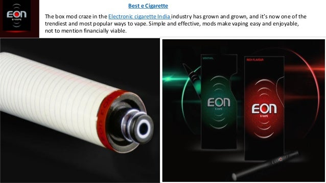 The box mod craze in the Electronic cigarette India industry has grown and grown, and it's now one of the trendiest and mo...