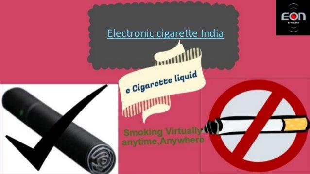 Electronic cigarettes Slide 3