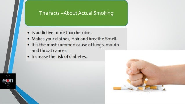 The facts –About Actual Smoking