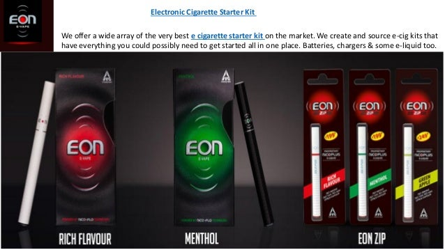 Electronic Cigarette Starter Kit We offer a wide array of the very best e cigarette starter kit on the market. We create a...