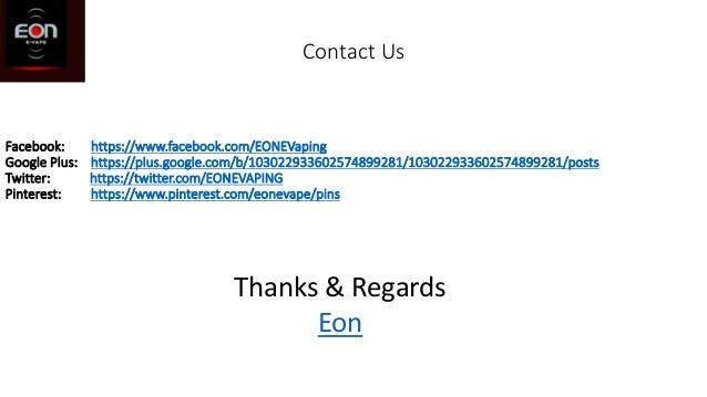 Contact Us Facebook: https://www.facebook.com/EONEVaping Google Plus: https://plus.google.com/b/103022933602574899281/1030...