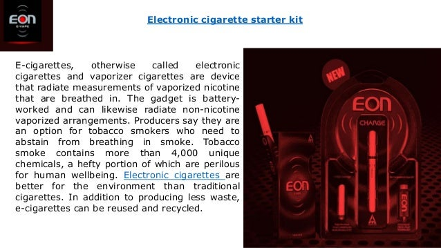 E-cigarettes, otherwise called electronic cigarettes and vaporizer cigarettes are device that radiate measurements of vapo...