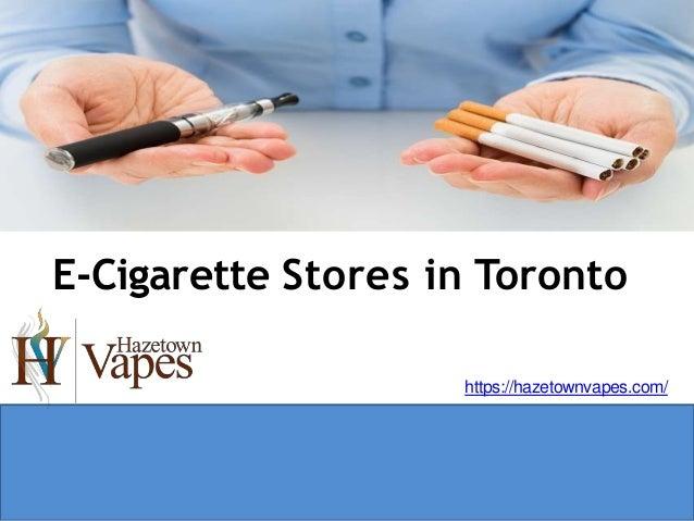 Electronic cigarette shop toronto red & white fine