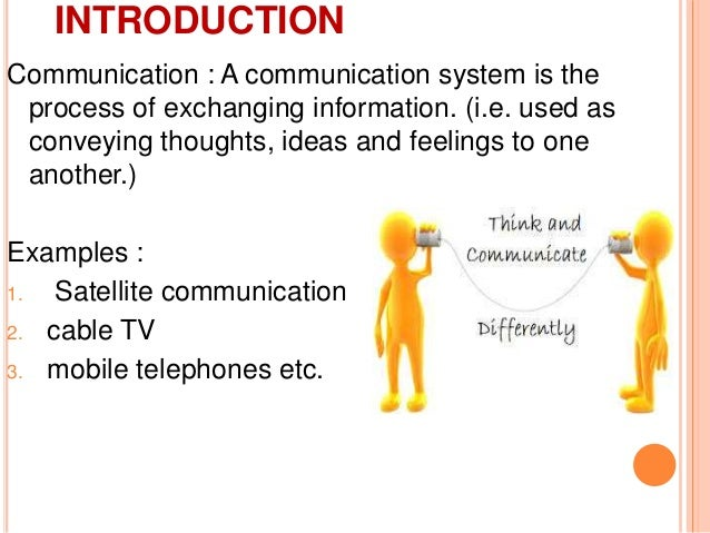 types of communication system pdf
