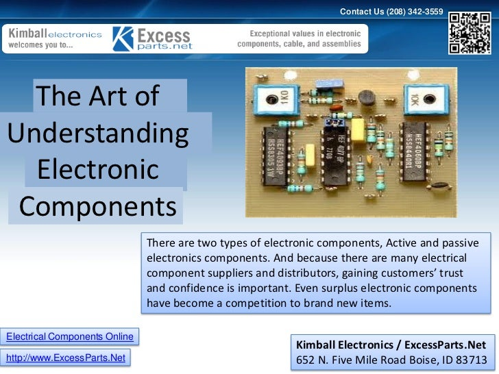 Funky Understanding Electronic Components Component - Schematic ...