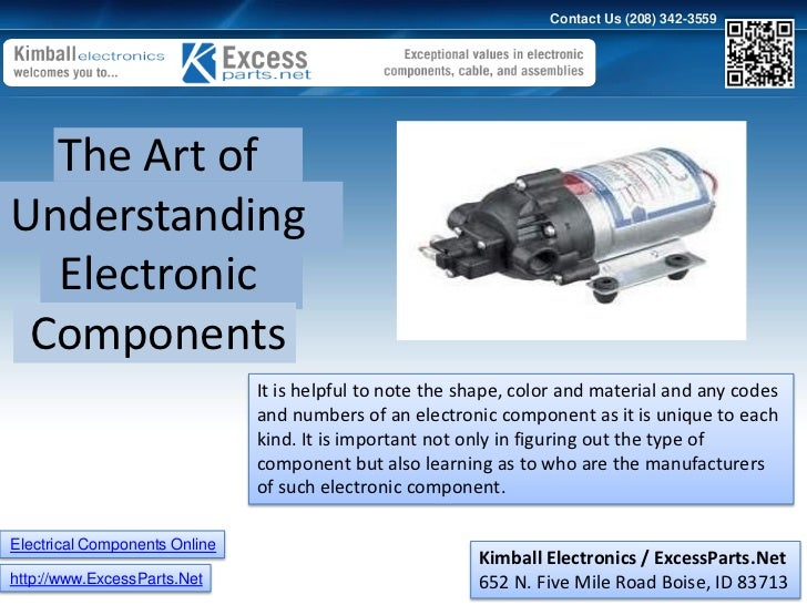 Electronic component online the art of understanding electronic com…