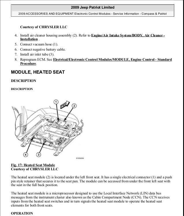 Manual reparacion Jeep Compass - Patriot Limited 2007-2009_Electronic…