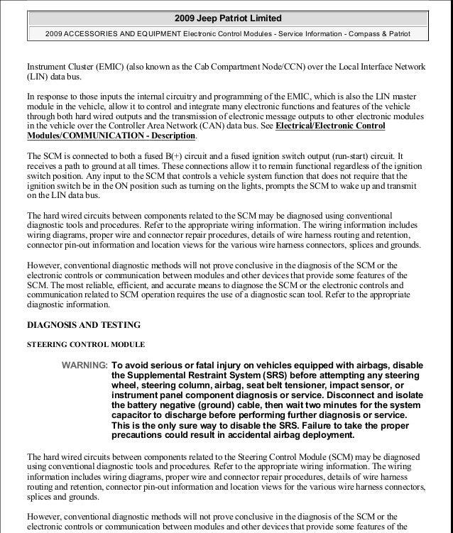 manual reparacion jeep compass patriot limited 20072009electronic control module 56 638?cb=1438198085 manual reparacion jeep compass patriot limited 2007 2009_electronic