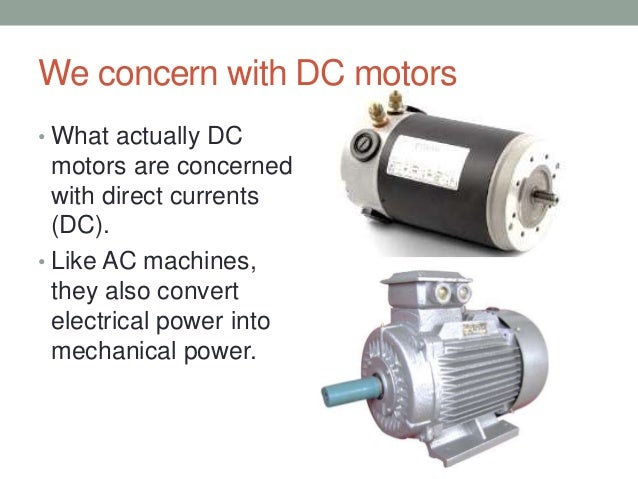 Electronic Control Of Dc Motors