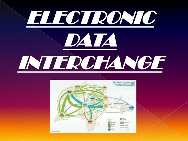 What is EDI????  It involves electronic exchange of business transactions documents over the internet and other networks ...