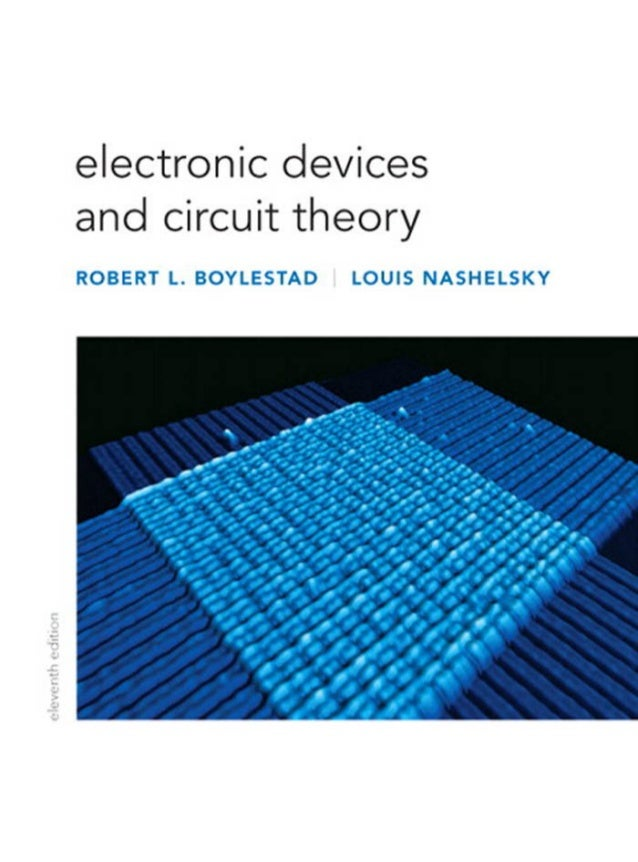 Electronic devices and circuit theory 11th ed