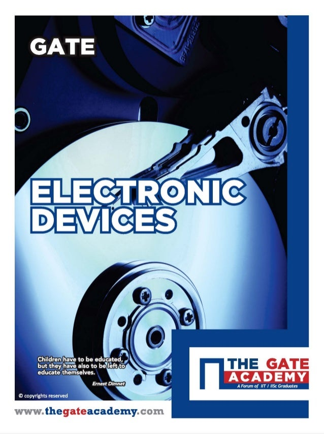 ELECTRONIC DEVICES & CIRCUITS for ELECTRONICS & COMMUNICATION ENGINEERING By www.thegateacademy.com