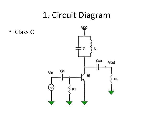 comparison of a b c power amplifiers rh slideshare net E38 Amplifier Diagram Isolation Amplifier Diagram