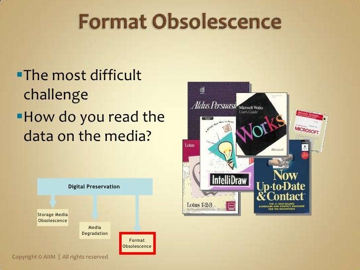 Storage Media<br />Obsolescence<br />Media<br />Degradation<br />Digital Preservation Problems<br />DigitalPreservation<br...