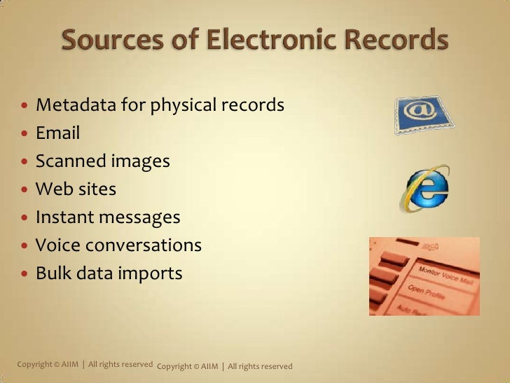 What is Records Management?<br />Field of management responsible for the efficient and systematic control of the creation,...