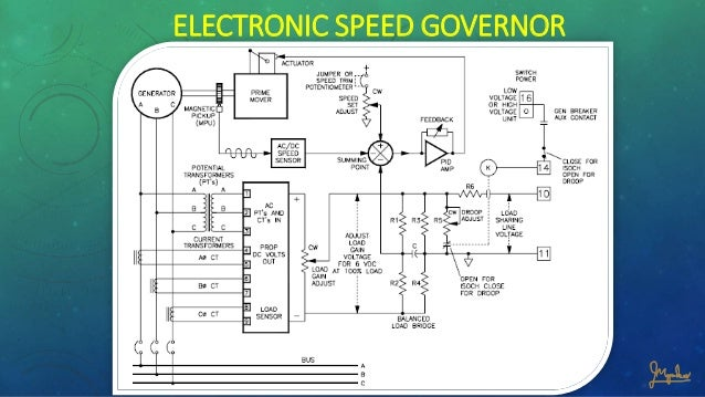 electronic governor rh slideshare net Electronic Circuit Symbols Schematic Circuit Diagram