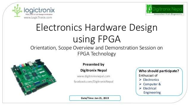Electronic Hardware Design with FPGA