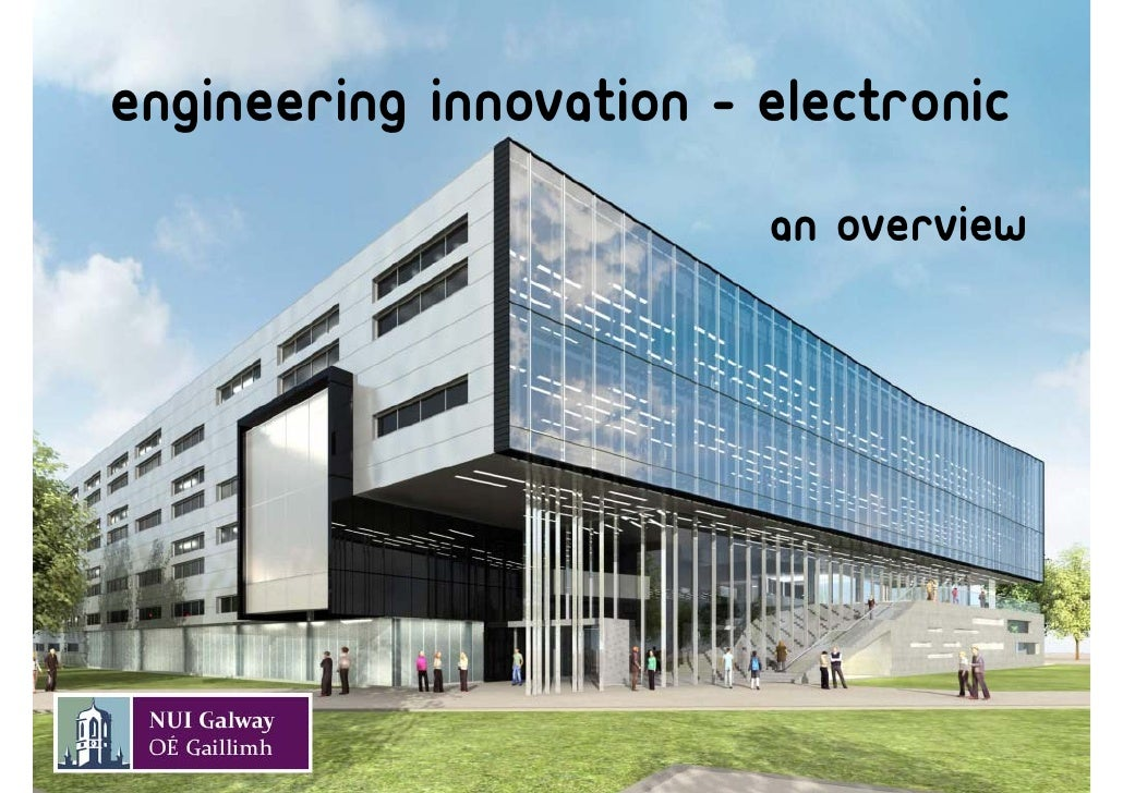 Engineering innovation - electronic                          An overview