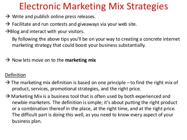 marketing strategies mix for cement Learn how to use the marketing mix (often called the 4ps of marketing) to get the right combination of place, price, product, and promotion in your business it can also be used to test your existing marketing strategy.