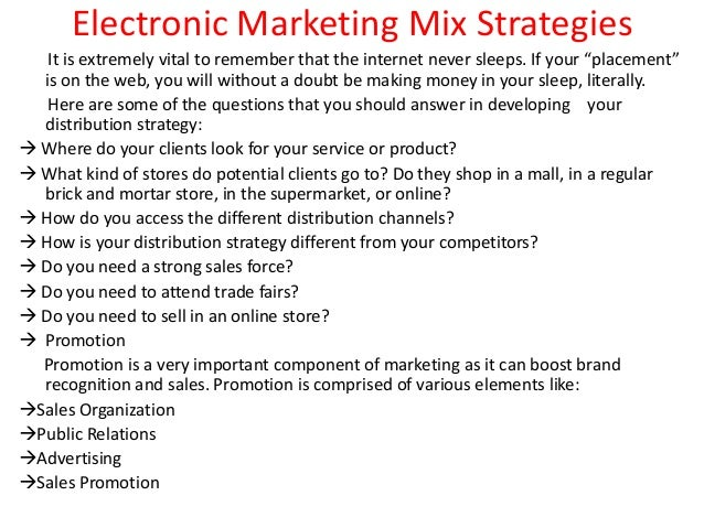 crest marketing mix strategies Essays - largest database of quality sample essays and research papers on crest marketing mix strategies.