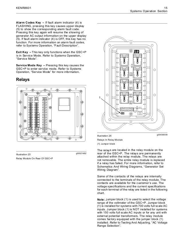 Electronic modular control panel ii + paralleling emcp ii +