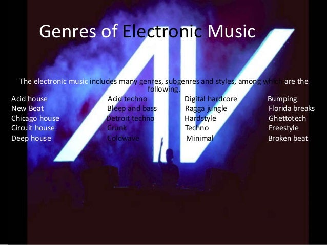 Electronic music for Acid techno music