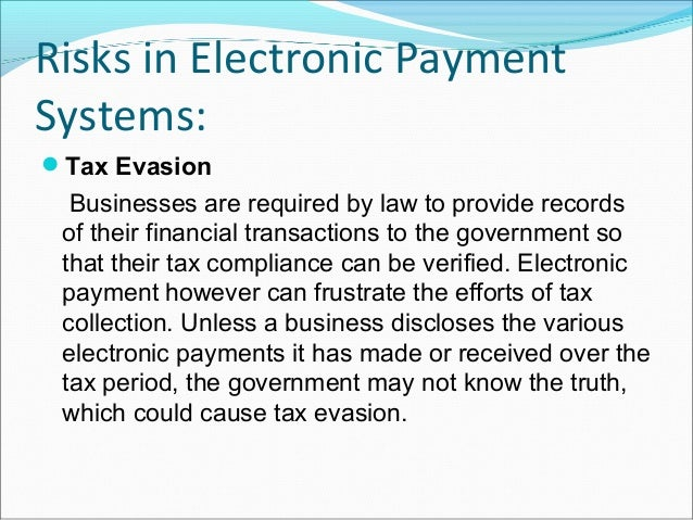 Risks in Electronic PaymentSystems:Payment Conflict Payment conflicts often arise because the payments are not done manua...