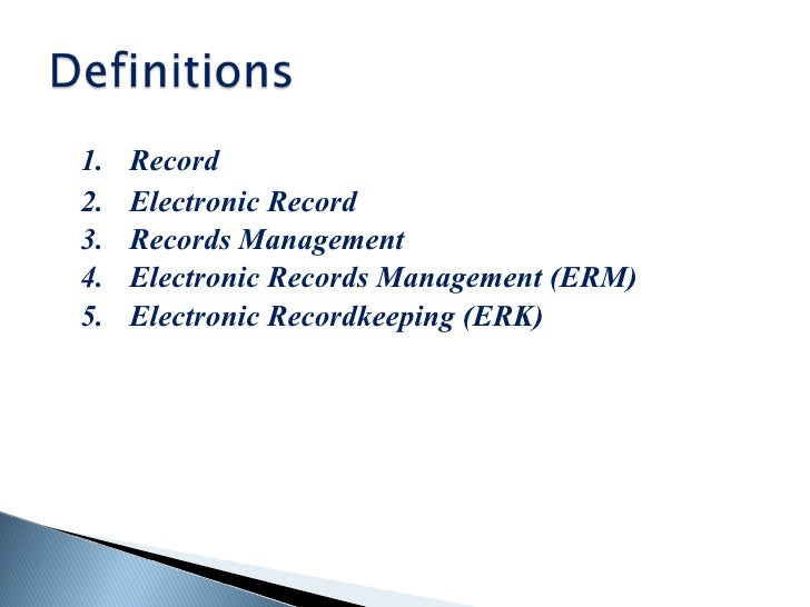 electronic records management and dental records Dental records introduction  the dental record, alsoreferred to as the patient's chart, is the official office document that records all of the treatment done and all patient-related communications that occur.