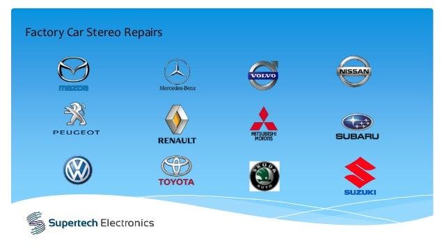 Factory Car Stereo Repairs