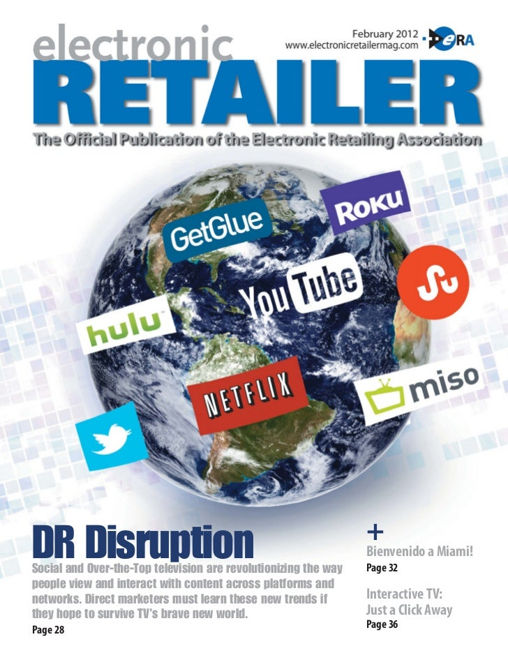 +DR DisruptionSocial and Over-the-Top television are revolutionizing the way                                              ...