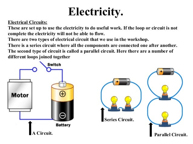 Components Of Electric Circuits - Merzie.net