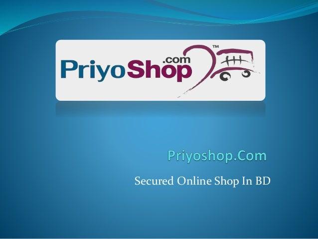 Secured Online Shop In BD