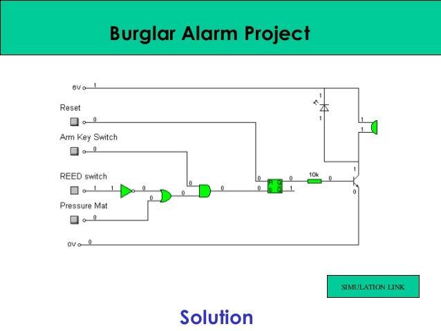 Burglar Alarm Cost >> Alarm circuit