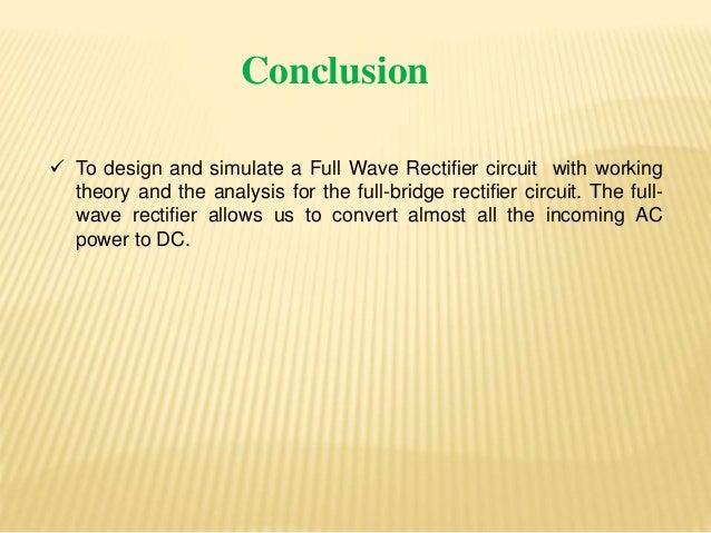 Zener Diode Full Wave Rectifier Ci...