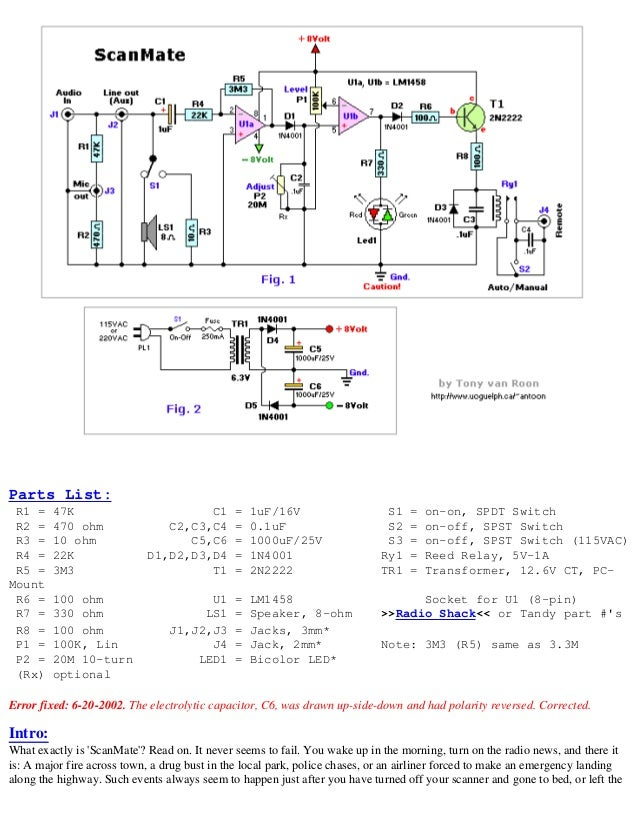 schematic circuits for the hobbyist