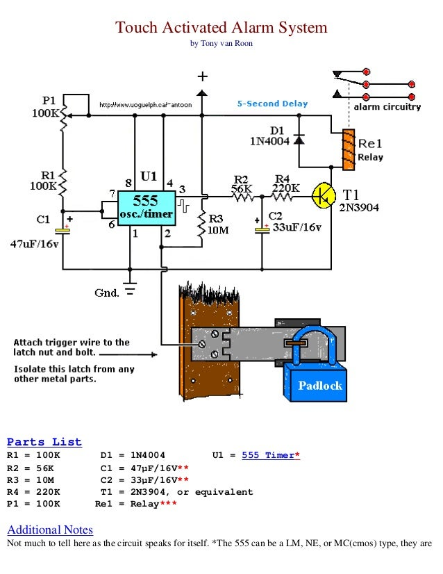 electronics schematic circuits for the hobbyist, Wiring diagram