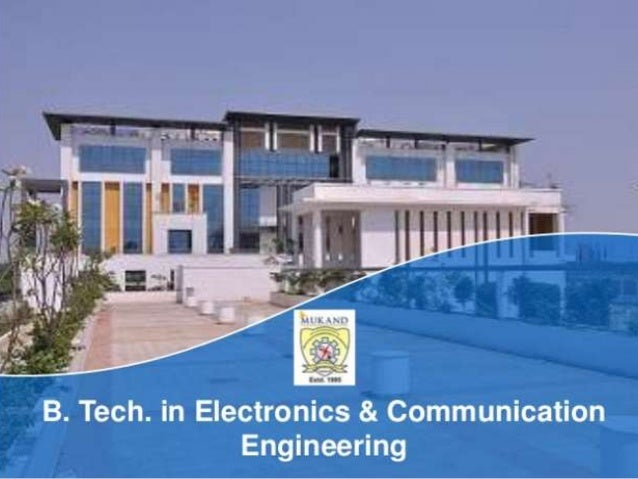 Electronic and Communication Engineering in Haryana