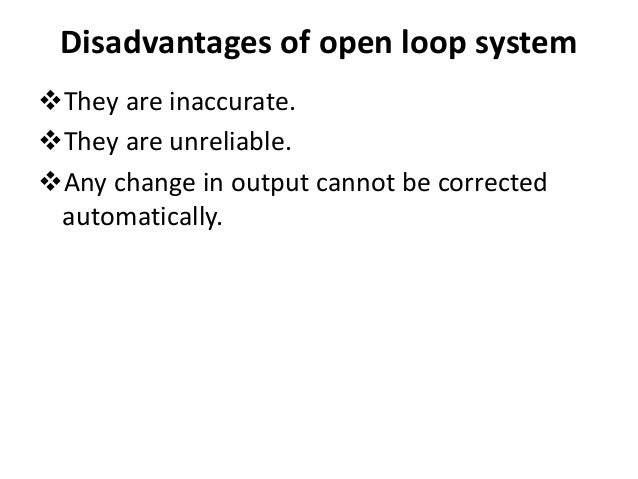 Seven Advantages of Loop Systems
