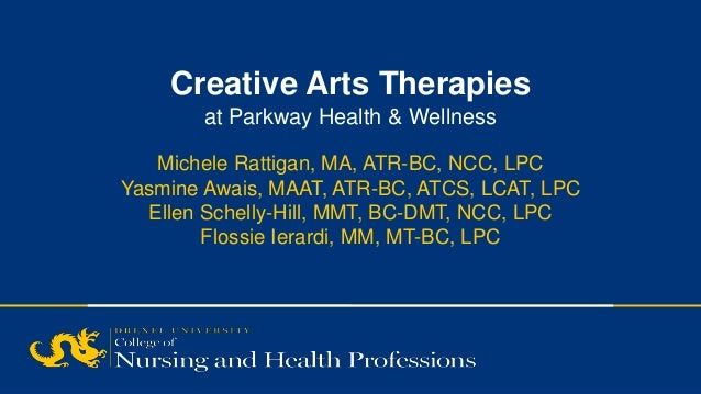 SECTION TITLE | 2 Creative Arts Therapies at Parkway Health & Wellness Michele Rattigan, MA, ATR-BC, NCC, LPC Yasmine Awai...