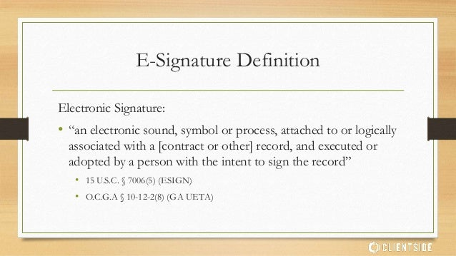 how to write an electronic signature