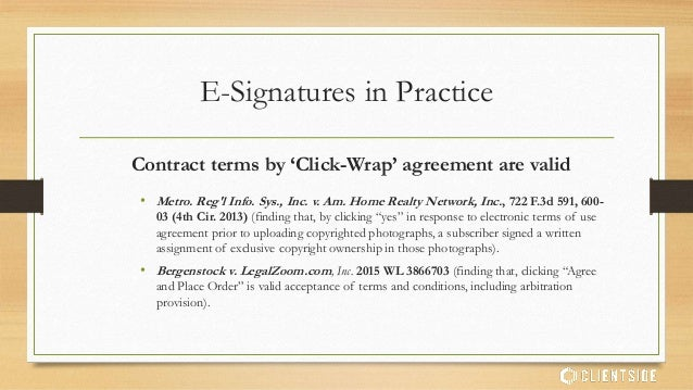 Uniform Electronic Signature Act 99