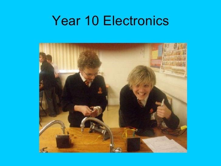 Year 10 Electronics
