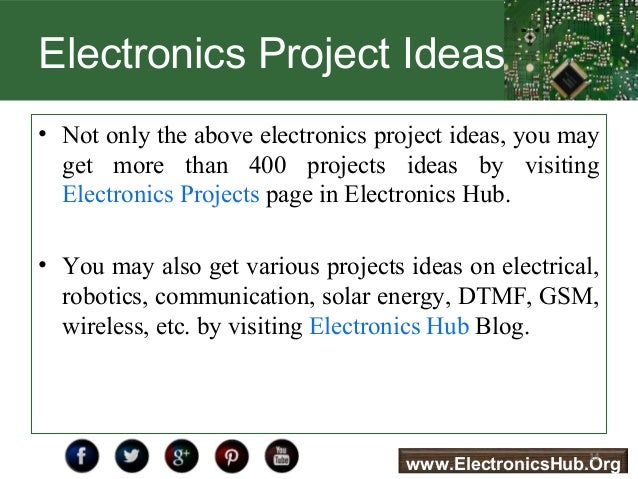 electronics projects pdf for engineering students