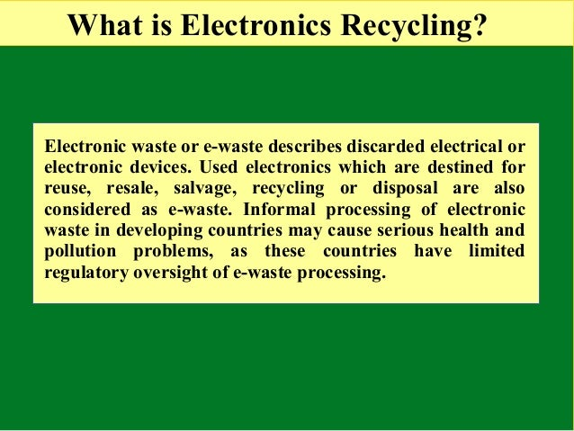 Natural Resources Used To Make Electronics