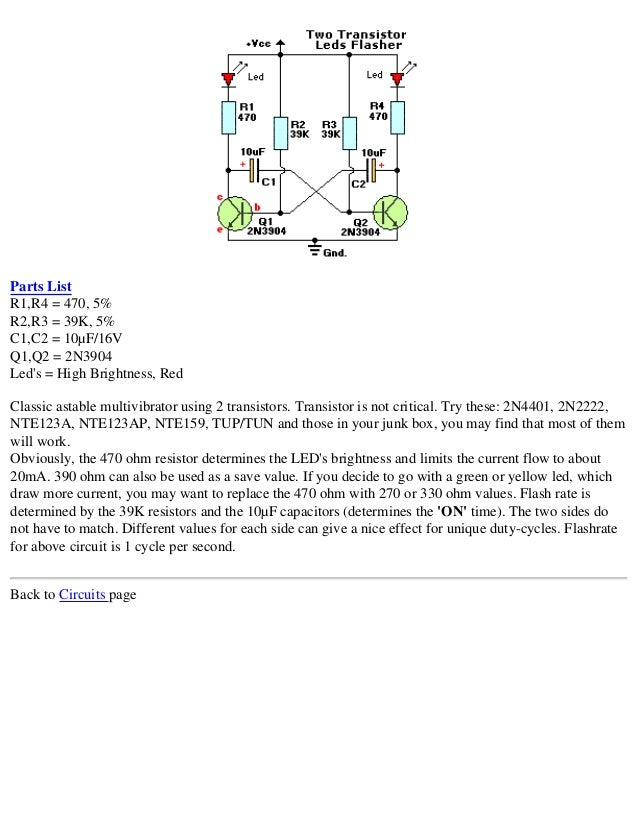 electronics schematic circuits for the hobbyist rh slideshare net
