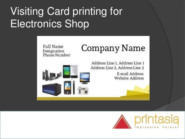 Electronic shop visiting cards visiting cards online design for ele impression forever electronics shop visiting cards samples 2 reheart Image collections