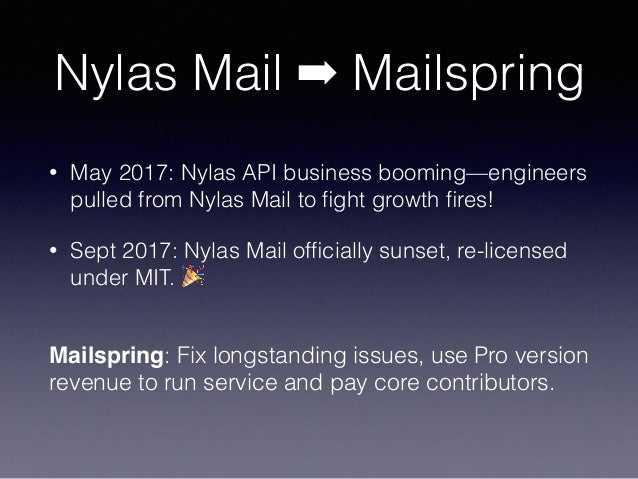 Electron performance and C++ in Mailspring Slide 3