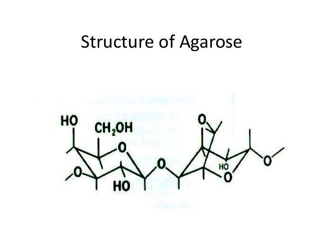 Structure of Agarose